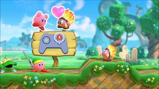 Kirby Star Allies :  DEMO gameplay 1/2 - Nintendo SWITCH