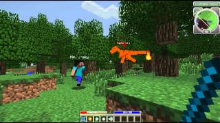 Minecraft: Hack / Mine Part 1 cu Radu, BarBariaS si KinZuraky