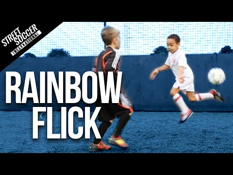 Learn Neymar Skills - Rainbow flick - Little STRs Kids coached by STR skill School