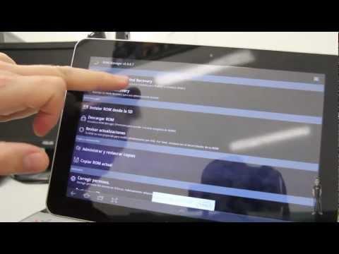 Tablet Samsung Galaxy Tab 10.1 3G. Aplicaciones a instalar después de