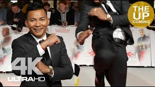 Tony Jaa shows off martial art move at XXX: Return of Xander Cage premiere in London