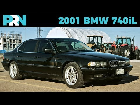 2001 BMW 740iL Tour & Review (E38)