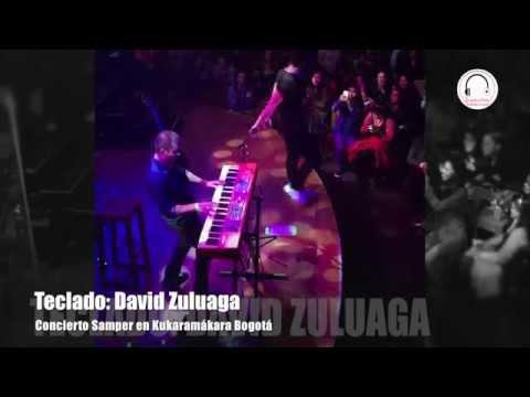Concierto de Samper en Kukaramákara Bogotá
