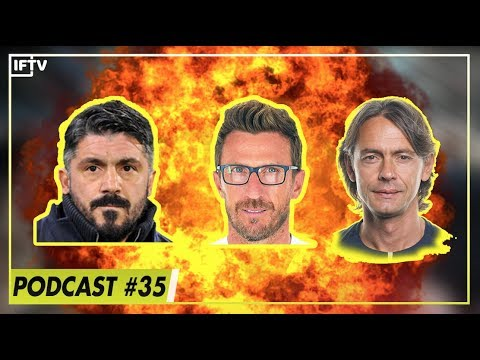 First Serie A manager to be sacked will be?  Serie A Podcast 35