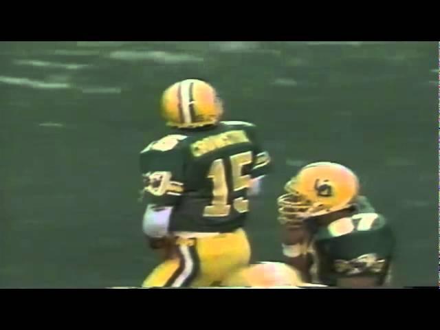 Oregon WR Brian Brown 37 yard catch and run vs. WSU 9-07-1991