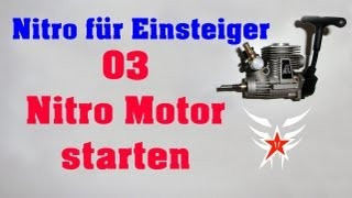 Nitro Verbrenner Motor starten, RC Car Einlaufphase, Failsafe einstellen, 1. START / Darconizer RC