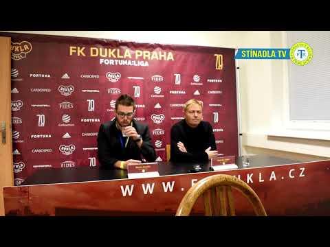 Tisková konference po utkání na Dukle (23.11.2018)