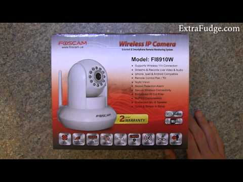 Foscam Wireless IP Camera FI8910W Review