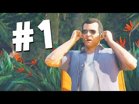 GTA 5 ПРОХОЖДЕНИЕ от ПЕРВОГО ЛИЦА! #1 - Добро пожаловать в Лос-Сантос!