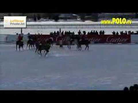 24th Cartier Polo World Cup on Snow 2008 at St. Moritz