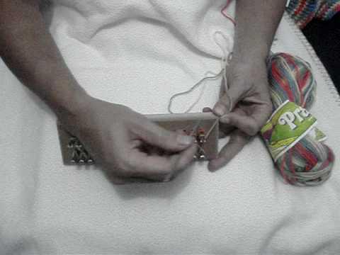 Elaboración de bufanda en telar maya (telarmaya@gmail.com)