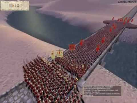300 ESPARTANOS Vs 3000 ROMANOS ROME TOTAL WAR 1