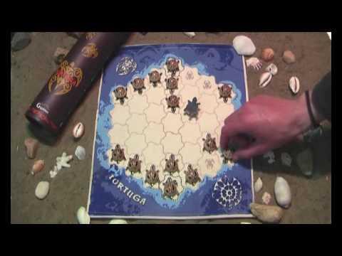 Тортуга (Tortuga), обзор настольной игры