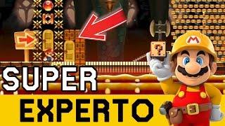 Me Apareció un Nivel Virtualmente IMPOSIBLE ! - SUPER EXPERTO NO SKIP | Super Mario Maker - ZetaSSJ