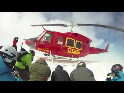 Heli Skiing in ipsoot (Whistler backcountry)