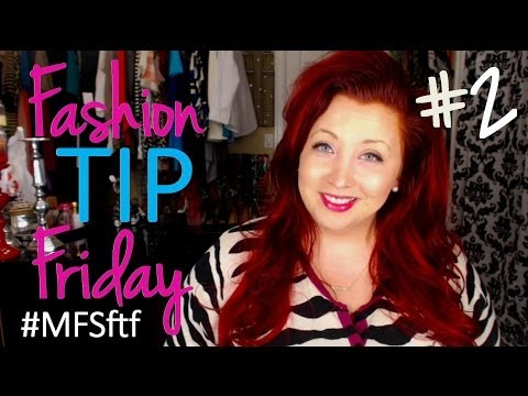 Fashion Tip Friday #2: Fitting Room Tips + Tricks video