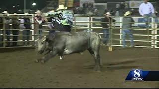 First go of the 108th California Salinas Rodeo
