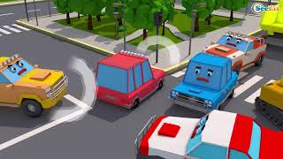 Cars & Trucks for kids - Smart Kids - the cartoon world - vehicles, Kids Baby for children