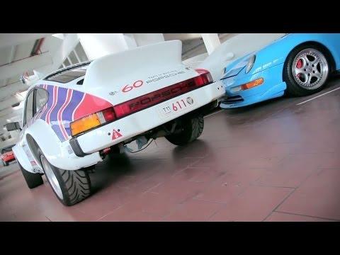 Porsche 911 San Remo Rally Car