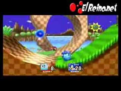 Transformaciones Kirby en Super Smash Bros Brawl - Parte 2