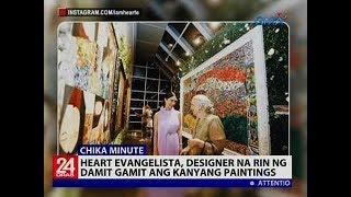 Heart Evangelista, Designer Na Rin Ng Damit Gamit Ang Kanyang Paintings