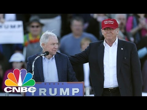 Donald Trump Offers Sen. Jeff Sessions Attorney General Post | Squawk Box | CNBC