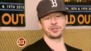 ETonline Interview - New Kids On The Block & Backstreet Boys