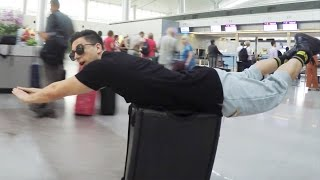 Video TROUBLE AT THE AIRPORT!!!