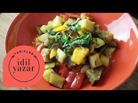 Türlü (Ratatouille) Nasıl Yapılır ?  - İdil Tatari - Yemek Tarifleri