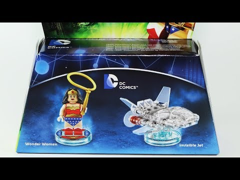 Wonder Woman + Invisible Jet Lego Dimensions Build