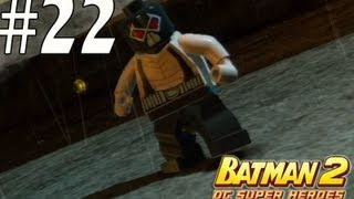 Lego Batman 2 - Unlocking Bane, Huntress, The Joker, Hawkman and friends
