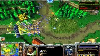 Mod Warcraft III : La Guerre des Mondes ! Game N°4