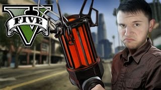 GRAVITY GUN MOD | GTA 5 (PC Mods)