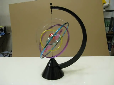 Kinetic Solar System Desk Toy.AVI