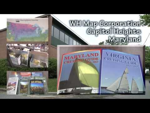 MARYLAND & VIRGINIA CRUISING GUIDES by the Williams & Heintz Map Corporation