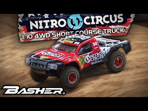 HobbyKing Product Video - Basher Nitro Circus 1/10th Scale SCT 4WD
