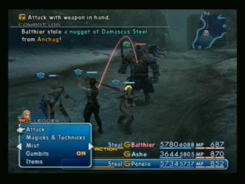 Final Fantasy XII- Tournesol earliest