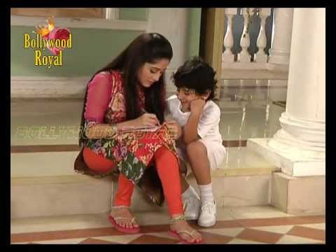 On location of TV Serial 'Khoobsurat'  Aradhya playing basketball with son and Dr  Shekhar