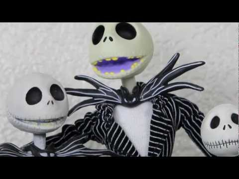 Nightmare Before Christmas Active Label Jack Skellington with Speech Table Figure Review