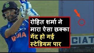India Vs Australia 3rd ODI: Rohit Sharma hits Richardson for 103 metre long six | Headlines Sports