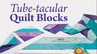 Tube-tacular Quilt Blocks
