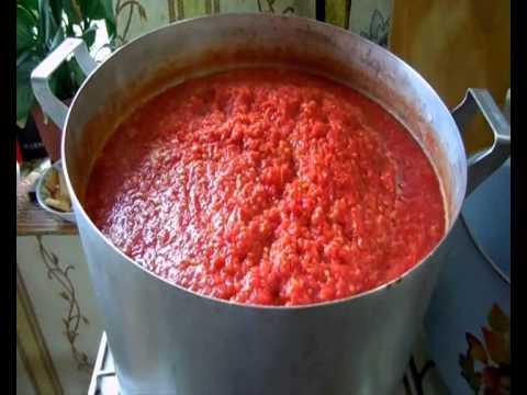 Как приготовить томат - видео