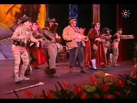 Chirigota - Los Monstruos de Pueblo \ Actuación Completa en la FINAL \ Carnaval 2008