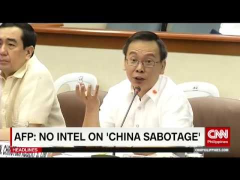 AFP: No intel on 'China sabotage'