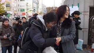 地震で延期の大学入試実施
