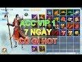 Nhất Kiếm Giang Hồ Mobile - Show ACC 7 Ngày VIP 1 Cày MAX Cỡ Gần 230K LC, Game Cày Cho Nông Dân