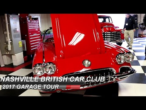 2017 Nashville British Car Club Garage Tour!