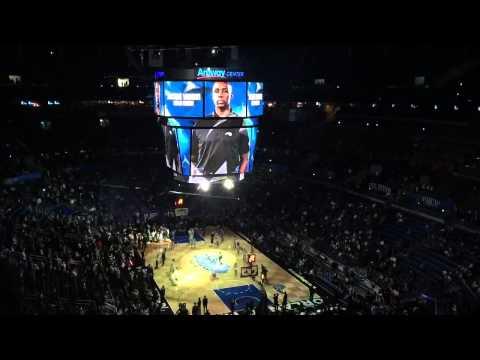 Orlando Magic intro vs Hawks NBA