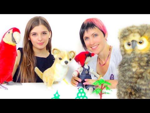 Видео для детей. Маша капуки кануки и игра Угадайка.