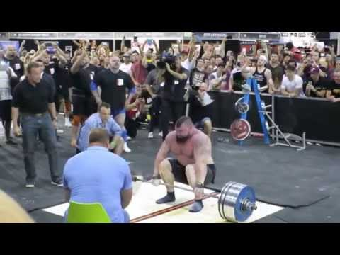 Eddie Hall - 462 KG / 1018.5 Pounds - World Record